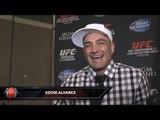 "UFC 178- Eddie Alvarez ""Donald Cerrone freezes, I can stop him! I can get a Finish!"