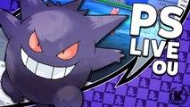 """GENGAR SCARF TRICK SALVA VIDAS"" - Pokémon Sun & Moon Showdown Live (Overused) || Klaw Office"