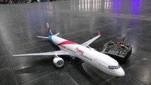 AMAZING RC BOEING 757-300 SUPER LIGHTWEIGHT MODEL AIRLINER FOR INDOOR FLIGHT PRESENTED _ 2017-9VuPW