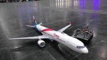 AMAZING RC BOEING 757-300 SUPER LIGHTWEIGHT MODEL AIRLINER FOR INDOOR FLIGHT PRESENTED _ 2017-9VuPWKU