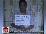 24 Oras: Mark Anthony Fernandez, kalaboso matapos mahulihan ng 1kg ng marijuana kagabi