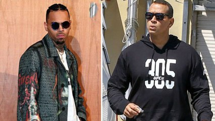 Alex Rodriguez 'Threatened' By Chris Brown Flirting With Jennifer Lopez