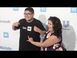 Rico & Raini Rodriguez WE Day California Blue Carpet Arrivals