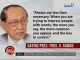 24 Oras: FVR kay DU30: If you can't say anything nice, shut up