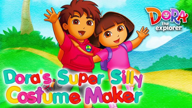 Dora the Explorer Dora's Super Silly Costume Maker. Game For Kids.