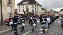 Défilé des sapeurs-pompiers du Calvados