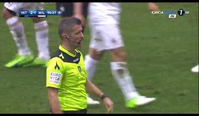 Cristian Zapata Goal HD - Inter 2-2 AC Milan - 15.04.2017