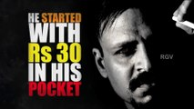 RGV's Rai Movie First Look - The Greatest Gangster Ever - Vivek Oberoi - Ram Gopal Varma