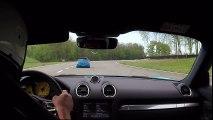 Porsche Cayman 718 S Circuit de Bresse 04.2017
