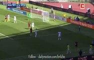 Mohamed Salah whips the ball into the penalty area | AS Roma v. Atalanta Serie A 15.04.2017