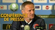 Conférence de presse Tours FC - FC Sochaux-Montbéliard (3-1) : Gilbert  ZOONEKYND (TOURS) - Albert CARTIER (FCSM) - 2016/2017