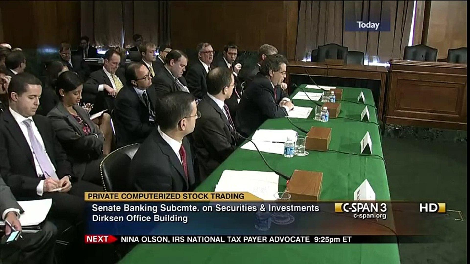 The Secret Stock Market: Private Computerized Stock Trading - Dark Pools (2012) part 2/2