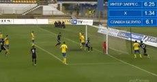 1-1 Mario Burić Gaol HD - NK Inter Zaprešić - NK Slaven Belupo 15.04.2017