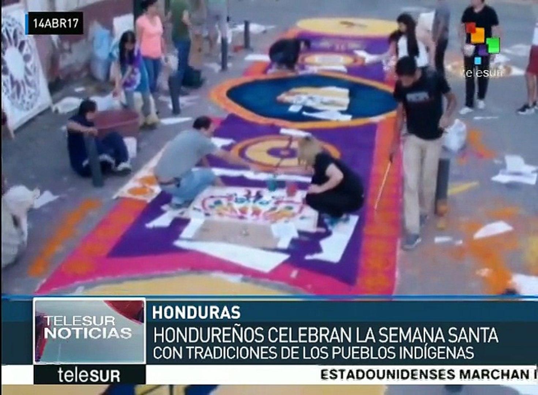 América Latina celebra con diferentes tradiciones la Semana Santa