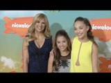 Maddie & Mackenzie Ziegler Kids' Choice Awards Orange Carpet Arrivals
