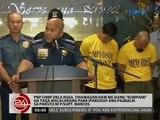 """PNP Chief Dela Rosa, tinawagan ng isang """"kumpare""""  para ipakiusap ang pagbalik ni P/Supt Marcos"""