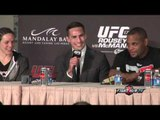 UFC 170 Rousey vs. McMann: Undercard post fight press conference highlights