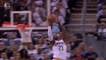 LeBron James' Amazing Reverse Dunk - Pacers vs. Cavaliers - April 15, 2017