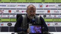 La réaction de Pascal Dupraz après EAG-Toulouse (2-1) :