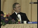 Jay Leno and George W. Bush: Stand-Up Comedy Show - Funny Moments (2004) part 2/2