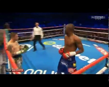 Ricky Burns vs Julius Indongo - Full Fight