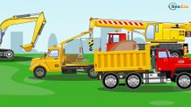 LEarn Vehicles - Monster Truck | Monster Truck Video Scary Monster Truck Cartoon Cars And Trucks