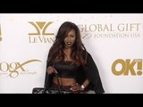 Faith Stowers OK! 2016 Pre-Oscar Party Red Carpet Arrivals #VanderpumpRules