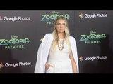 "Veronica Dunne ""Zootopia"" Los Angeles Premiere Red Carpet"