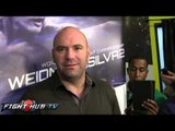 "Dana White ""Floyd Mayweather & Haymon managing MMA fighters not a bad thing"""