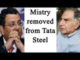 Cyrus Mistry removed as Tata Steel's Chairman | Oneindia News