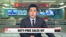 Korean duty free stores see sales in March fall 19% due to China's economic retaliation on THAAD