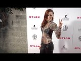 "Jessica Sutta NYLON ""Muses & Music"" Grammy Pre-Party Red Carpet in Los Angeles"