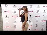 """Samantha Mumba NYLON """"Muses & Music"""" Grammy Pre-Party Red Carpet in Los Angeles"""