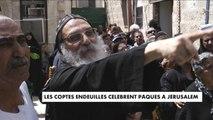 Les Coptes endeuillés célèbrent Pâques à Jérusalem - MONDE