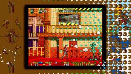 Trailer Namco Museum sur Switch de Namco Museum
