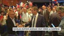 Nicolas Dupont-Aignan veut créer la surprise - Politique