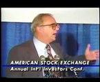 Reagan's Economic Policies: American Stock Exchanges Investors Conference (1987) part 1/2