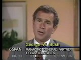 What Jobs Did George W. Bush Have Before He Became President? Business Interview (1991) part 1/2