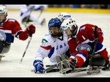 Highlights - 5th place Norway v Italy - 2013 IPC Ice Sledge HockeyWorld Championships A-Pool