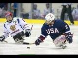 Highlights Semi-final USA v Russia - 2013 IPC Ice Sledge Hockey World Championships A-Pool