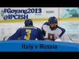 Ice sledge hockey - Italy v Russia - 2013 IPC Ice Sledge Hockey WorldChampionships A Pool Goyang