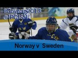 Ice sledge hockey - Norway v Sweden - 2013 IPC Ice Sledge Hockey WorldChampionships A Pool Goyang
