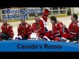 Ice sledge hockey - Canada v Russia - 2013 IPC Ice Sledge Hockey WorldChampionships A Pool Goyang