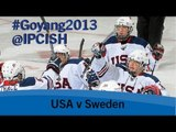 Ice sledge hockey - USA v Sweden - 2013 IPC Ice Sledge Hockey World Championships A Pool Goyang