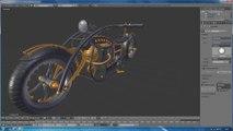 Tutoriel blender 3D en français script python de selection des petites pièces