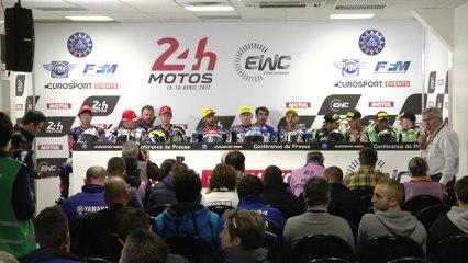 Conférence de presse d'après course - 24 Heures Motos 2017