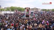 «Printemps Solidaire» : 500 000 personnes ont chanté sur les Champs-Elysées