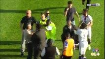 Bastia Fans Attack Lyon Players Again At Half Time!