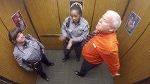 Un policier célèbre son départ à la retraite de la façon la plus drôle qui soit