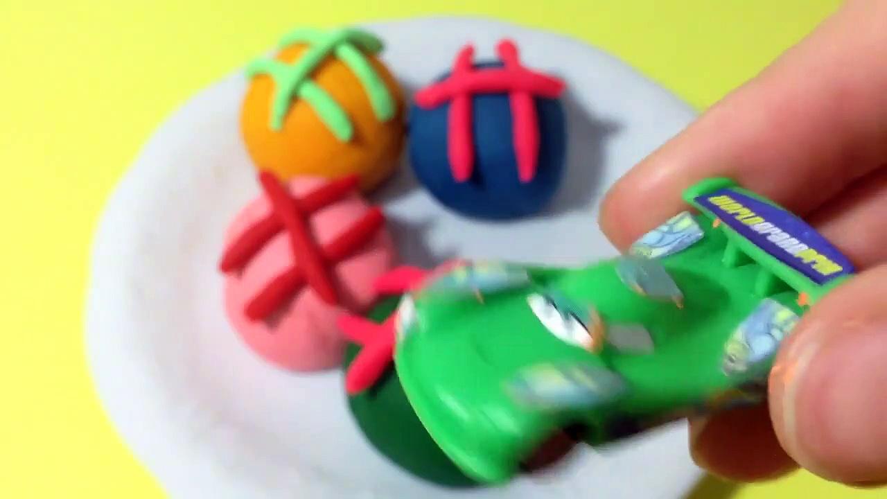 Play-Doh Cookies Surprise Egg! Disney Cars Disqwqw121212sdsd